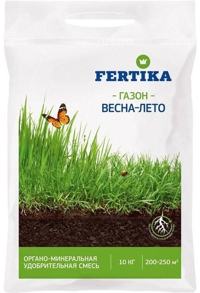 Удобрение для газона ОМУ Фертика весна-лето